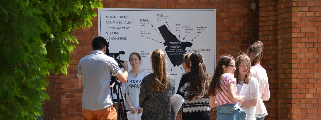 Frühling-Sommer 2016: die Übergabe der ersten ungarndeutschen Lehrpfade